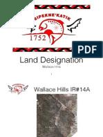Wallace Hills Land Designation Referendum Presentation
