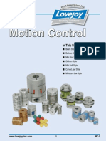 Motion Control Coupling