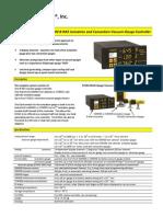Series 3000 B-RAX Ioniizatiion and Convection Vacuum Gauge Controller