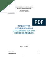 AMBIENTE SEDIMENTARIOS UTILIZADOS EN LOS HIDROCARBUROS.doc