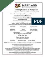 12-02-09 Strong Women Invitation