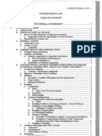 Constitutional Law-2008-Long Outline