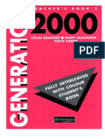 Teacher's Book, Generation 2000