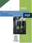 Analisis Del Sistema Hidraulico de La Prensa Para Copones En3