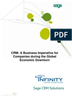 CRM - A Business Imperative for Companies During the Global Economic Downturn