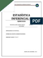 Ejercicios Estadistica Inferencial II