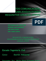 EXP-LUNES 10-12-2013-Requisitos Comunicacion Autoridad