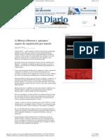 A México Ofrecen a 'paisanos' seguro de repatriación por muerte