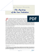 Blavatsky on the Mystery of the Sun Initiation
