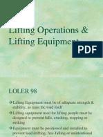 Lifting Operations 2
