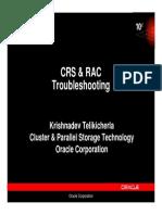 CRS RAC Troubleshooting