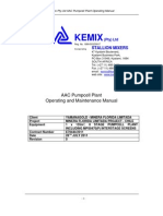 AAC Kemix Pumpcell Plant Operating Installation Manual_Yamana_Chile Minera Florida Limitada Project_Rev0