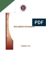 Reglamento Estudiantil Feb 2013