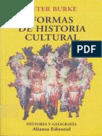 Burke Peter - Formas de Historia Cultural