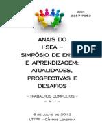 Anais TC Completo I SEA