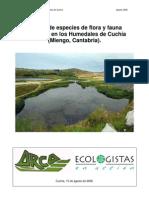 Invent a Rio Flora Fauna Canteras Cuchia