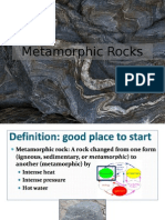 Metamorphic and Rock Fall Lecture