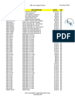 ABB Price Book 208