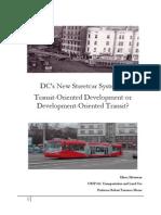 DC Streetcar Final Paper