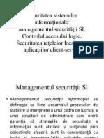 Securitatea Sistemelor Informationale TIC AUDIT