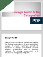 Energy Audit & Its Categories