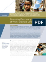 Promoting Democracy and Rights at Work