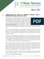 NT - Perspectivas do custo da energia elétrica para a indústria no Brasil .pdf