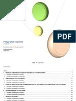 Programa de Español 2014