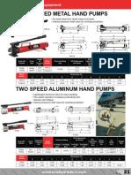 BVA P-Series Single Speed & Aluminum Catalog