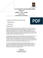 Master of Science in Information Technology (MScIT-NEW) – Semester 3