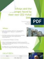 Vishal Sikka, New CEO Of Infosys