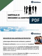 CAP IV Iniciando La Auditoría ABRIL 2009-P