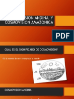 Cosmovision Andina y Cosmovision Amazonica