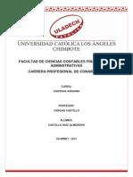 Investigación Formativa Control Interno