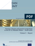 Pension schemes and pension projections in the EU-27 Member States — 2008-2060