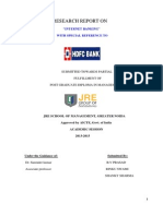 Research Report on Hdfc