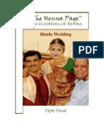 "The Henna Page ""Encyclopedia of Henna""; Hindu Wedding,  by Dipti Desai"