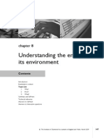 Chap - 8 Understanding the Entity & Its Envioronment