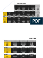 P90X3 Schedule