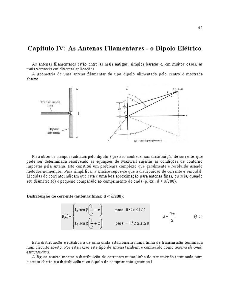 Circuito Aberto : Antenas o dipolo elétrico.pdf