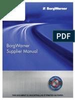 BorgWarner Supplier Manual