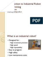 Introduction to Industrial Robot Programming