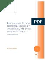 Reforma Del Edo, Descentralizacion y Gob