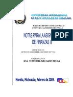 Apuntes Finanzas III Salgado Mejia