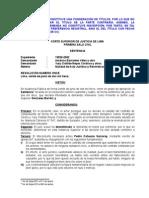 Nulidad de Acto Juridico y Reivindicacion - Exp 19526-2002 - Sentencia Vista - F La Reiv
