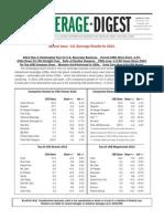 Beverage Digest 2014 March - US Beverage Results for 2013