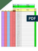 W4 Grade Sheet (Sp '09) - Group D