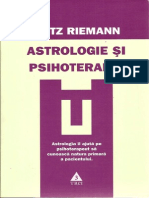 Fritz Riemann - Astrologie Si Psihoterapie