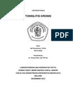 Lapsus Tonsilitis Bagoes tjahjono