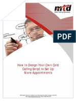 How to Design Your Own Cold Calling Script